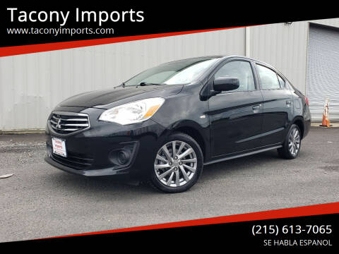 2019 Mitsubishi Mirage G4 for sale at Tacony Imports in Philadelphia PA
