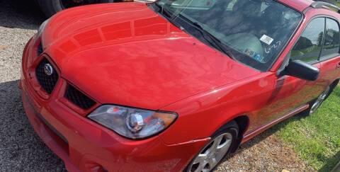 2006 Subaru Impreza for sale at Trocci's Auto Sales in West Pittsburg PA