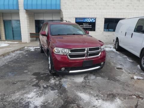 2013 Dodge Durango for sale at Wilkins Automotive Group in Westland MI