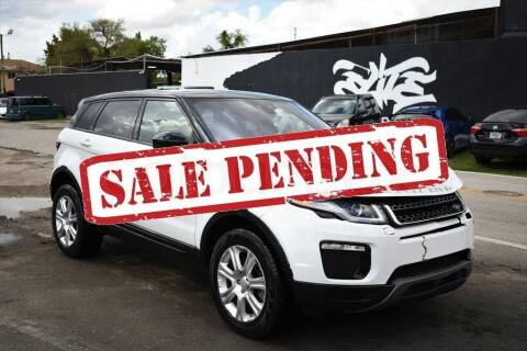 2018 Land Rover Range Rover Evoque for sale at STS Automotive - Miami, FL in Miami FL