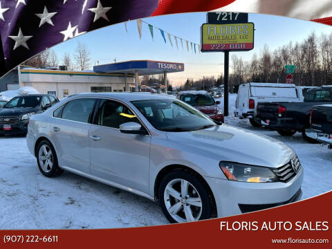 2013 Volkswagen Passat for sale at FLORIS AUTO SALES in Anchorage AK
