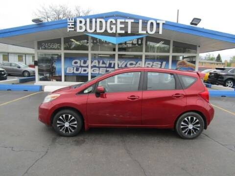 2014 Nissan Versa Note for sale at THE BUDGET LOT in Detroit MI