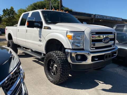 2016 Ford F-250 Super Duty for sale at Texas Luxury Auto in Houston TX