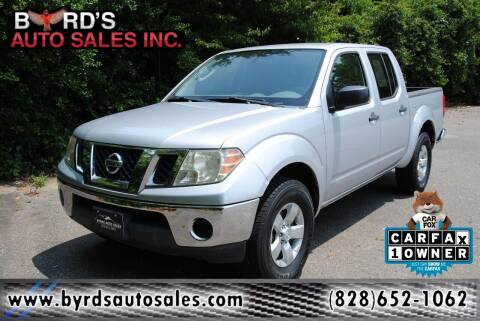 2011 Nissan Frontier for sale at Byrds Auto Sales in Marion NC