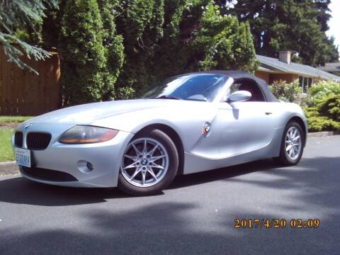 2003 BMW Z4 for sale at Redline Auto Sales in Vancouver WA