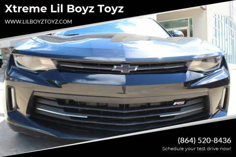 2016 Chevrolet Camaro for sale at Xtreme Lil Boyz Toyz in Greenville SC