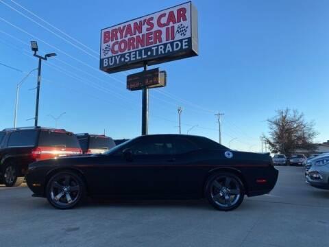 2014 Dodge Challenger for sale at Bryans Car Corner in Chickasha OK