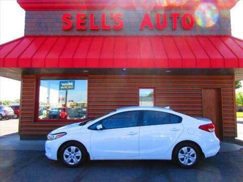 2017 Kia Forte for sale at Sells Auto INC in Saint Cloud MN