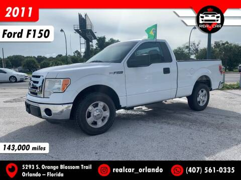 2011 Ford F-150 for sale at Real Car Sales in Orlando FL