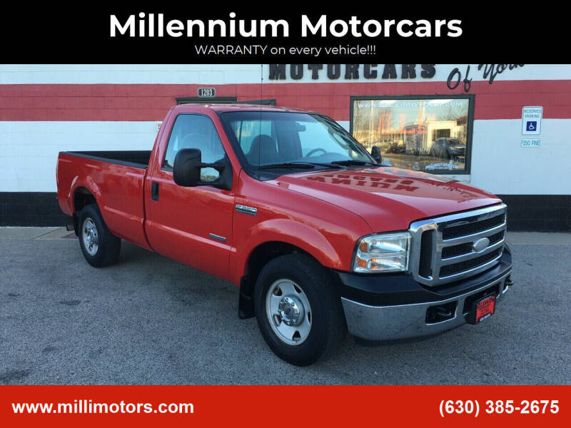 2005 Ford F-250 Super Duty for sale at Millennium Motorcars in Yorkville IL