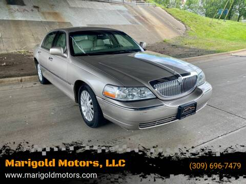 2003 Lincoln Town Car for sale at Marigold Motors, LLC in Pekin IL