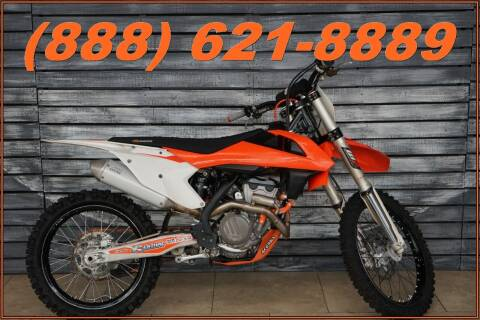 2016 KTM 250 SX-F for sale at Motomaxcycles.com in Mesa AZ