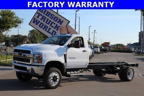 2020 Chevrolet Silverado 5500 for sale at Gibson Truck World in Sanford FL