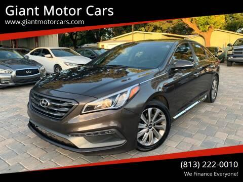 2015 Hyundai Sonata for sale at Giant Motor Cars in Tampa FL