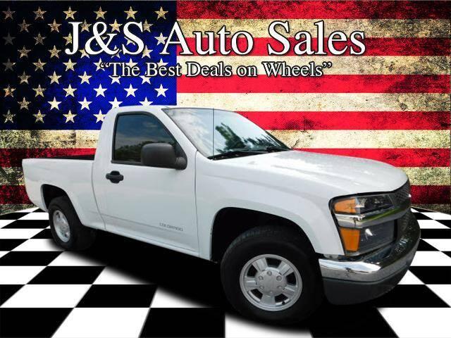 2004 Chevrolet Colorado for sale at J & S Auto Sales in Clarksville TN