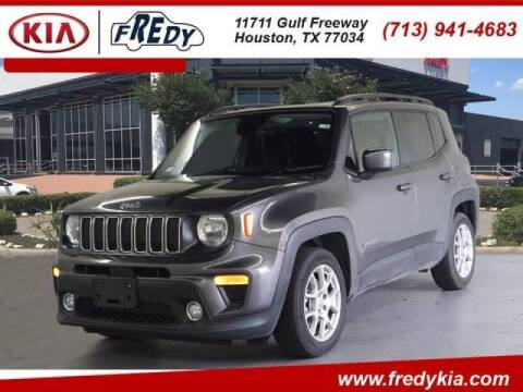 2019 Jeep Renegade for sale at FREDYS CARS FOR LESS in Houston TX