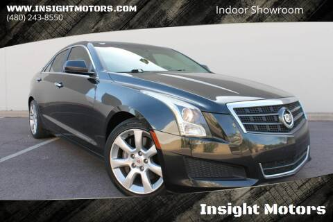 2013 Cadillac ATS for sale at Insight Motors in Tempe AZ