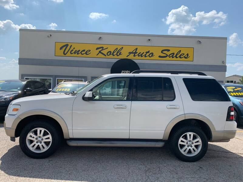 2010 Ford Explorer for sale at Vince Kolb Auto Sales in Lake Ozark MO