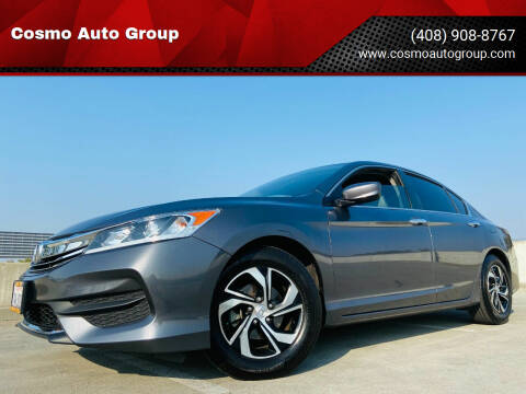 2017 Honda Accord for sale at Cosmo Auto Group in San Jose CA