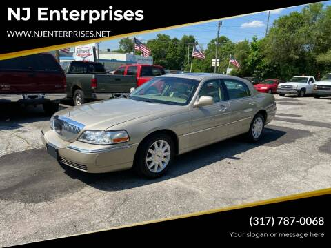 2007 Lincoln Town Car for sale at NJ Enterprises in Indianapolis IN