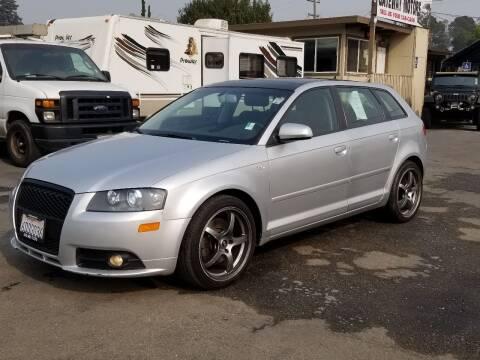 2007 Audi A3 for sale at Gateway Motors in Hayward CA