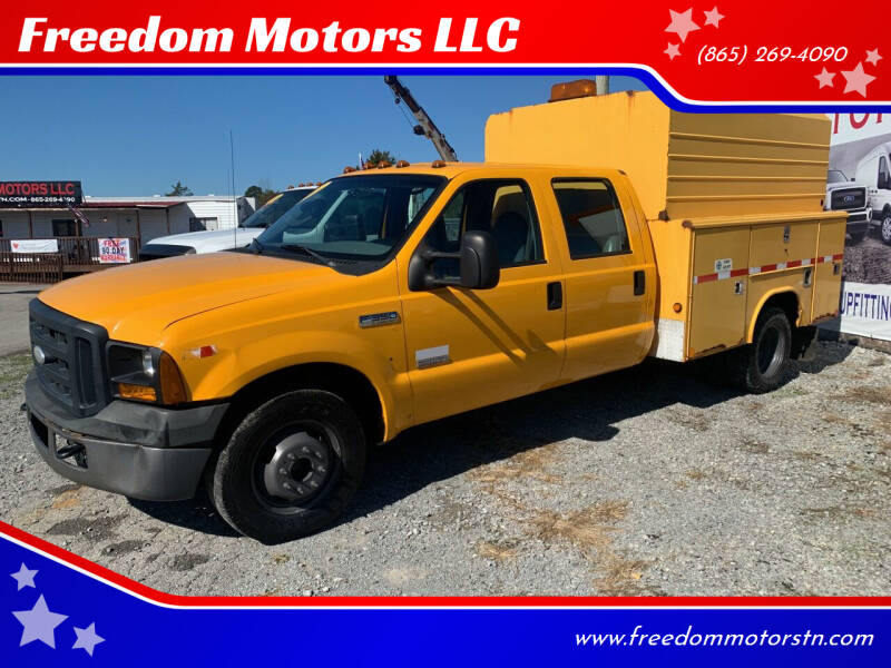 2007 Ford F-350 Super Duty for sale at Freedom Motors LLC in Knoxville TN