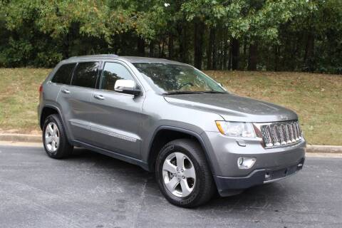 2013 Jeep Grand Cherokee for sale at El Patron Trucks in Norcross GA