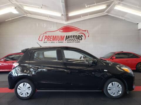2021 Mitsubishi Mirage for sale at Premium Motors in Villa Park IL