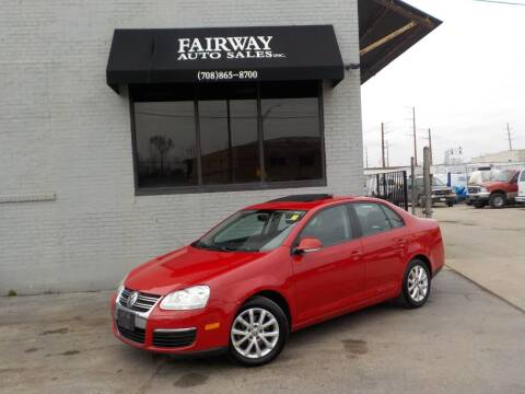 2010 Volkswagen Jetta for sale at FAIRWAY AUTO SALES, INC. in Melrose Park IL