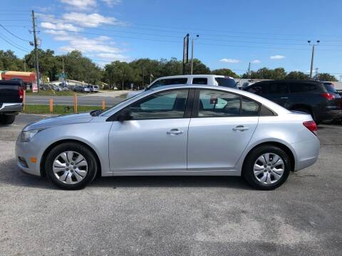 2013 Chevrolet Cruze for sale at Marvin Motors in Kissimmee FL