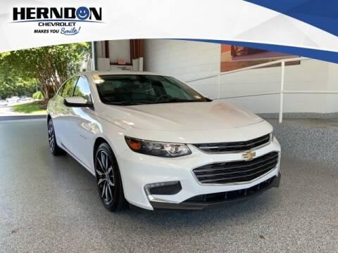 2018 Chevrolet Malibu for sale at Herndon Chevrolet in Lexington SC