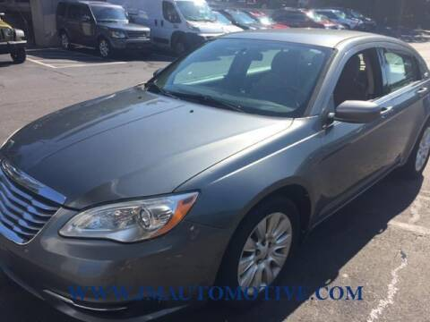 2012 Chrysler 200 for sale at J & M Automotive in Naugatuck CT