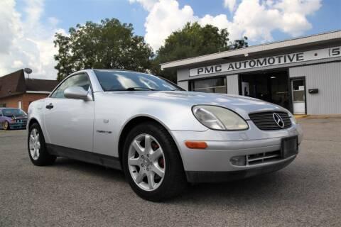1999 Mercedes-Benz SLK for sale at PMC Automotive in Cincinnati OH