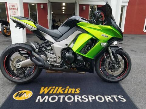 2011 Kawasaki Ninja ZX1000 for sale at WILKINS MOTORSPORTS in Brewster NY