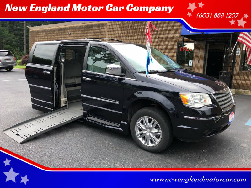 2010 Chrysler Town and Country for sale at New England Motor Car Company in Hudson NH