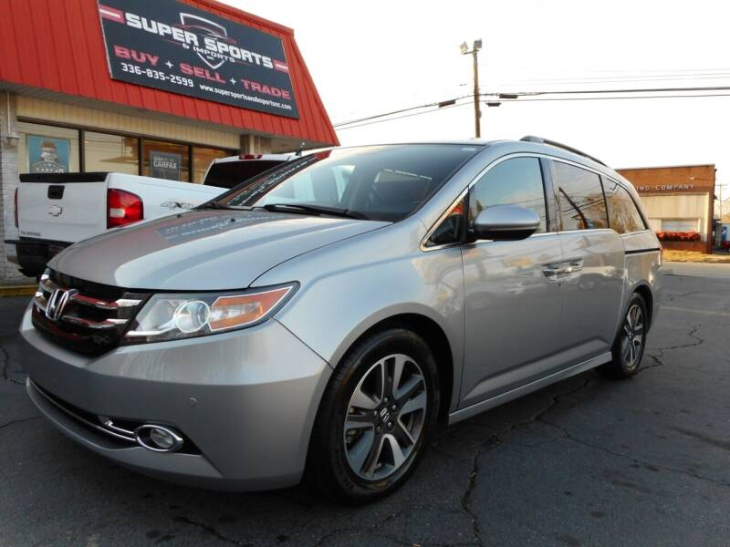 2016 Honda Odyssey for sale at Super Sports & Imports in Jonesville NC