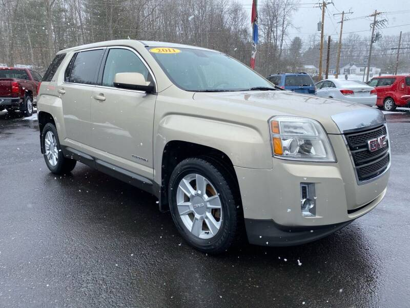 2011 GMC Terrain for sale at Pine Grove Auto Sales LLC in Russell PA