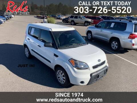 2011 Kia Soul for sale at Red's Auto and Truck in Longmont CO