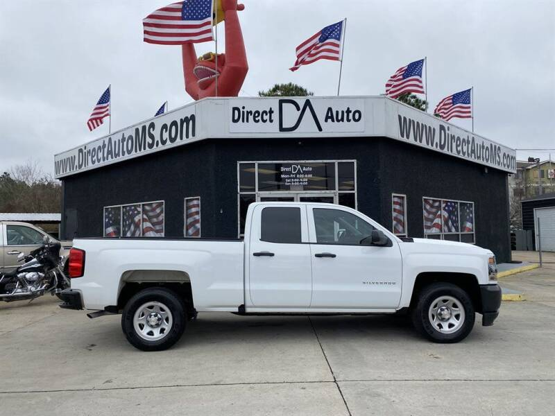 2019 Chevrolet Silverado 1500 LD for sale at Direct Auto in D'Iberville MS