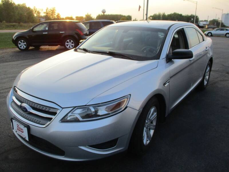 2012 Ford Taurus for sale at KAISER AUTO SALES in Spencer WI
