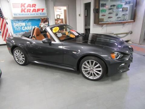 2017 FIAT 124 Spider for sale at Kar Kraft in Gilford NH