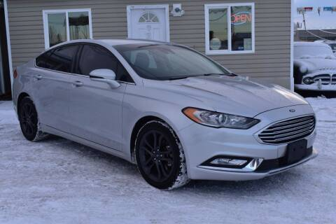 2018 Ford Fusion for sale at Alaska Best Choice Auto Sales in Anchorage AK
