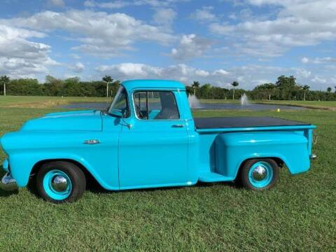 1959 GMC 100 for sale at Classic Car Deals in Cadillac MI