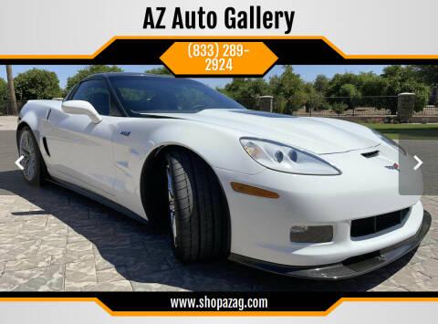 2010 Chevrolet Corvette for sale at AZ Auto Gallery in Mesa AZ
