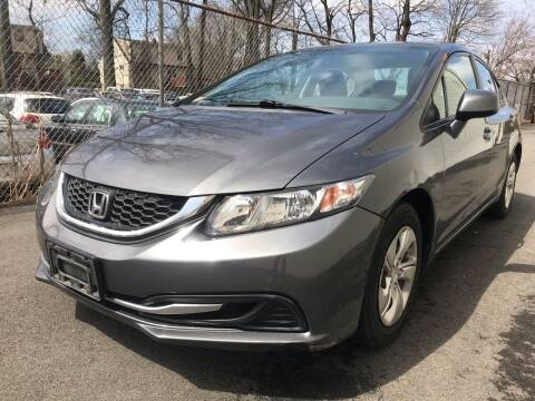 2013 Honda Civic for sale at MAGIC AUTO SALES in Little Ferry NJ