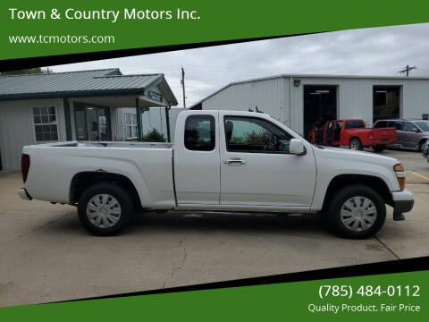 2012 Chevrolet Colorado for sale at Town & Country Motors Inc. in Meriden KS