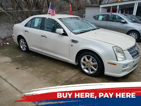 2008 Cadillac STS for sale at BUY RITE AUTO MALL LLC in Garfield NJ