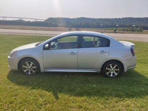 2012 Nissan Sentra for sale at SCENIC SALES LLC in Arena WI