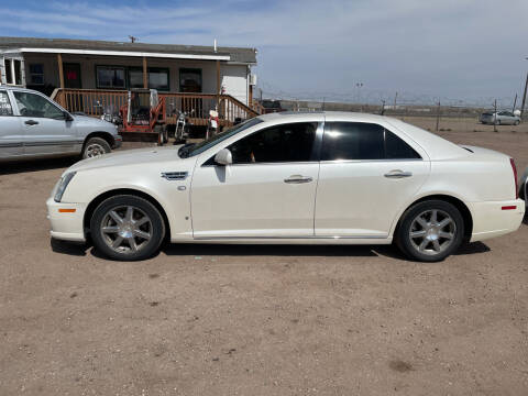 2008 Cadillac STS for sale at PYRAMID MOTORS - Fountain Lot in Fountain CO