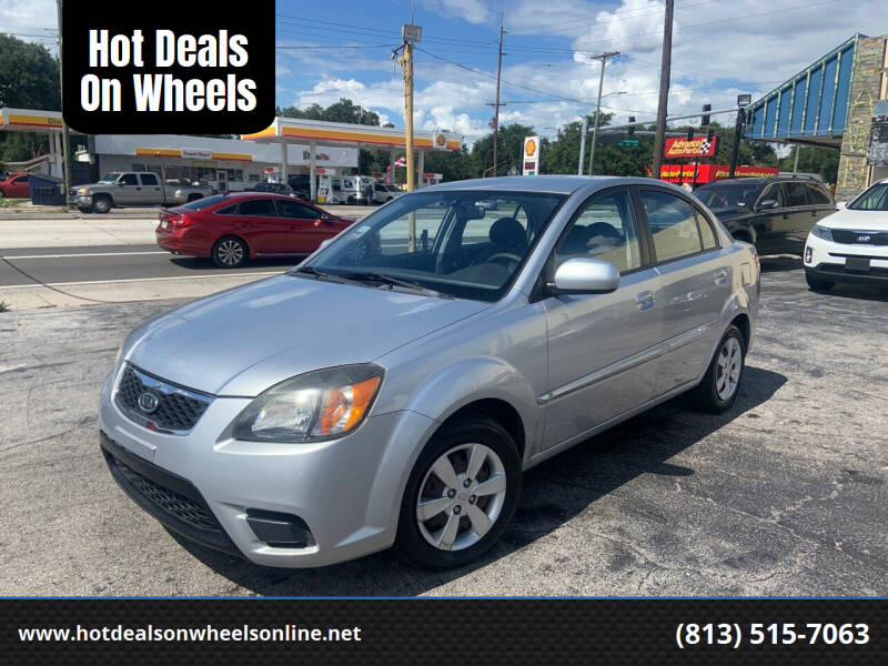 2010 Kia Rio for sale at Hot Deals On Wheels in Tampa FL